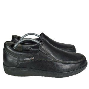 Mephisto Travels Mens leather slip on casuals 9.5